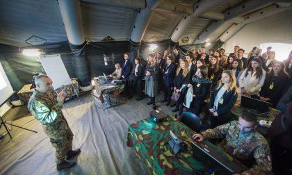Università d'Italia a lezione al comando Nato