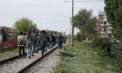 Saronno Seregno si cammina per salvare l'ex ferrovia