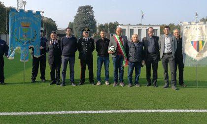 Parabiago Calcio, inaugurati i lavori al campo sportivo. FOTO