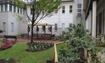 Casa di riposo: inaugurato il giardino del Nucleo Alzheimer