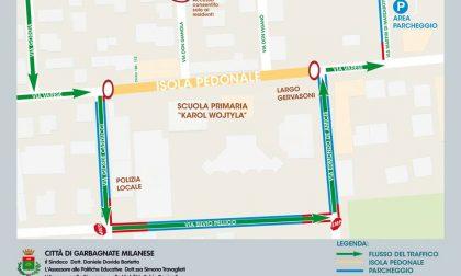 """Area pedonale davanti alla primaria: a Garbagnate il progetto """"Peter Pan"""""""
