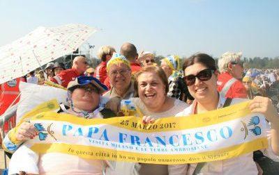 La visita del Papa a Monza diventa un film