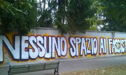 Presidio Telos in piazzetta Portici e in via Varese spunta un murales