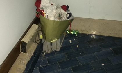 Rifiuti nel sottoscala del Ps di Saronno, rifugio per senzatetto
