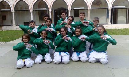 Dieci medaglie ai Mondiali di karate per il Kokoro dai