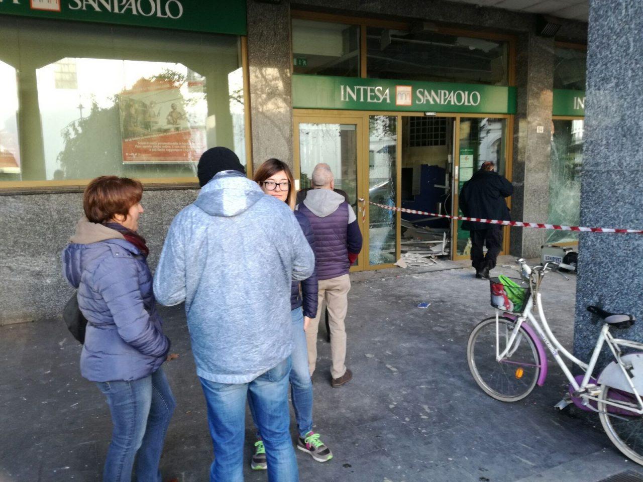 Bancomat esploso a Cornaredo
