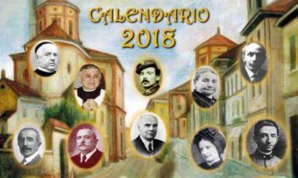 Calendario 2018 dedicato ai tradatesi illustri