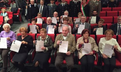 Onorificenze ai combattenti e reduci