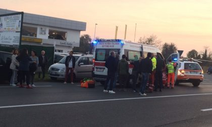 Incidente ss11 due ragazzi in ospedale
