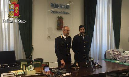 Ladri del sassolino, quattro arresti al campo rom