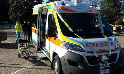 Misericordia Arese, inaugurata la nuova ambulanza