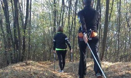 Nordic Walking nel Parco dei Mughetti
