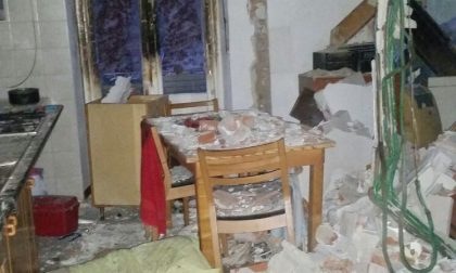 Esplosione in una palazzina, sembrerebbe un gesto volontario