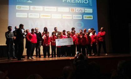 Società di calcio di Busto Garolfo vince un premio speciale