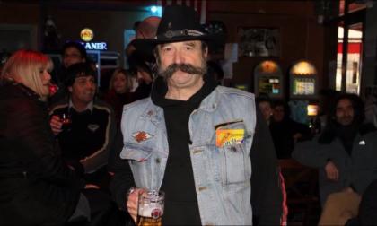 Harley sul sagrato per salutare Ricky Sona