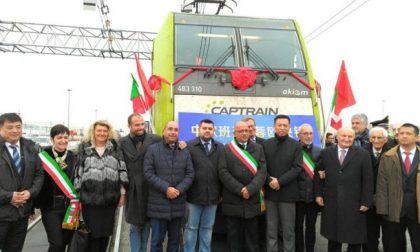Sorte inaugura il primo treno Italia Cina