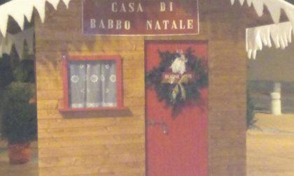 Casa di Babbo Natale a Gerenzano grazie alla Pro Loco