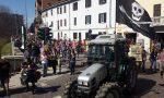 Superstrada, la protesta degli agricoltori