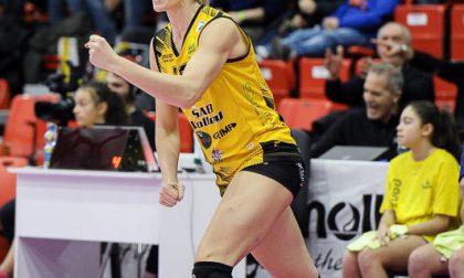 La SAB Volley Legnano divorzia da Annie Drews