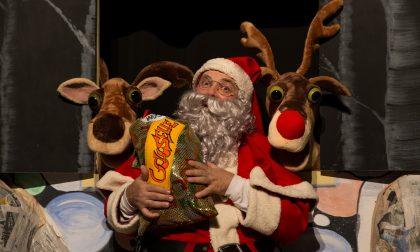 Babbo Natale al teatro di Saronno