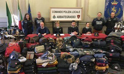 Polizia locale sequestra oltre 150 articoli contraffatti