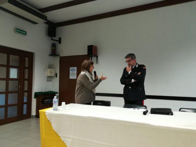 Arconate, come evitare le truffe agli anziani il Maresciallo dei carabinieri Gianluca Bruni