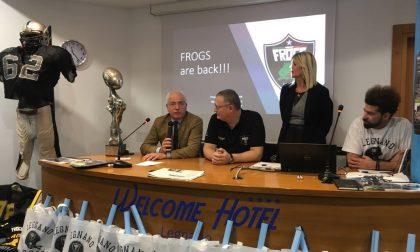 I Frogs ripartono con la nuova gestione: il Video
