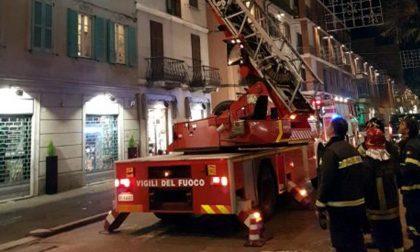 Allarme in centro a Tradate arrivano i pompieri