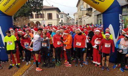 Babbo Natale Running in 800 di corsa a Tradate  FOTO
