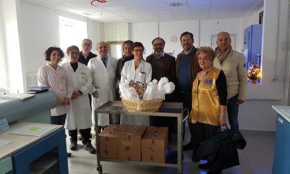 Donazione Lions all'ospedale di Tradate