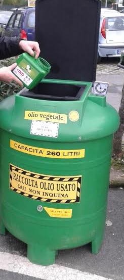 Da gennaio l&#8217&#x3B;olio alimentare usato si raccoglie nei supermercati