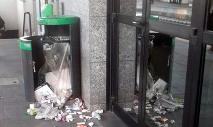 Stazione allo sbando preda dei vandali a Rescaldina