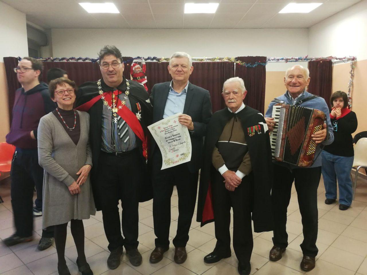 I Cavalieri di Malta premiano i ragazzi disabili di Canegrate