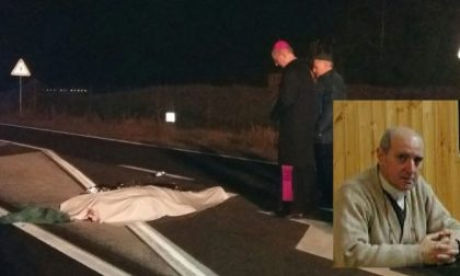 Padre Vito Groppelli investito e ucciso da un'auto FOTO VIDEO