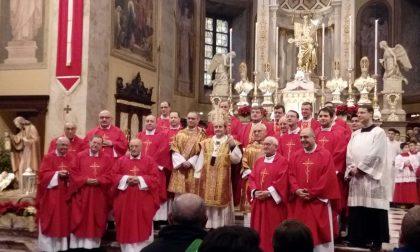 L'arcivescovo Delpini in paese