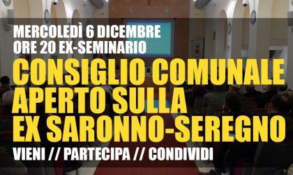 Saronno Seregno Tu@Saronno invita a partecipare al consiglio comunale aperto