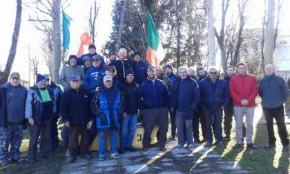 Gara dei cesti di Natale con Euro Pesca a Vermezzo