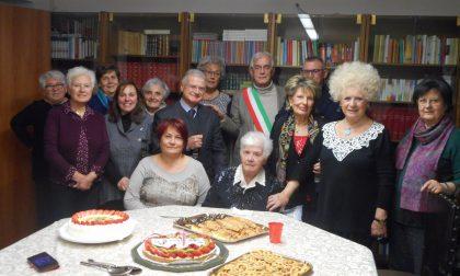 Fagnano Olona ha festeggiato i 104 anni di Maria Sguazzabia