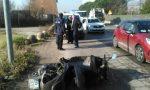 Incidente, motociclista ferito