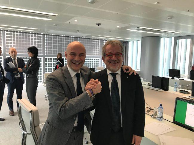 Roberto Maroni oggi in conferenza stampa