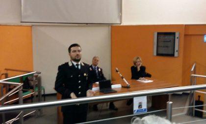 Tema sicurezza, un incontro con l'Arma dei Carabinieri