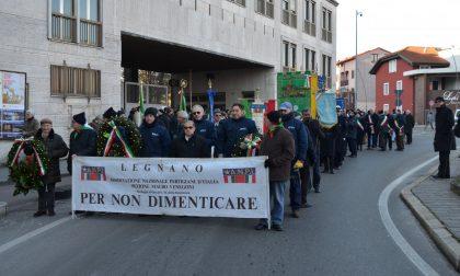 Commemorazione dei deportati della Franco Tosi