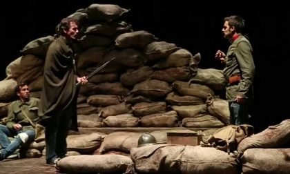 In trincea, a teatro uno spettacolo sulla Grande guerra