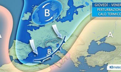 Da giovedì torna l'inverno con pioggia, neve e temperature in calo