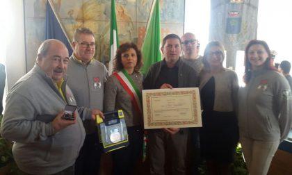 Mirco Jurinovich medaglia d'oro per le vite salvate col defibrillatore