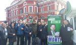 Elezioni Regionali, il tour di Monti parte dalla stazione di Varese