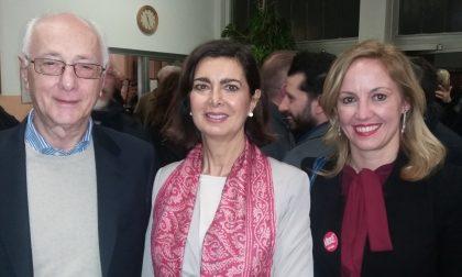 """Elezioni 2018, Laura Boldrini a Novate per """"Liberi e Uguali"""""""