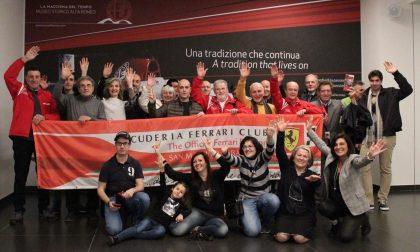 La Scuderia Ferrari Club al museo Alfa Romeo