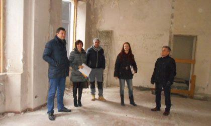 Al via dopo 10 anni di stallo il restauro del municipio di Gorla Maggiore