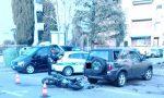 Grave incidente tra un motociclista e un'auto – LE FOTO